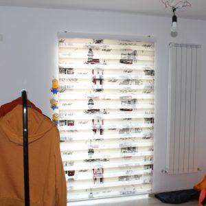 Rulouri Interioare - Rolete Textile Zebra Print